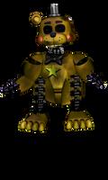 Speed Edit : Ignited Golden Freddy By RedBon