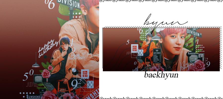 [3rd] graphic |baekhyun| countdown to 20180506 by SakuraMidori-chan