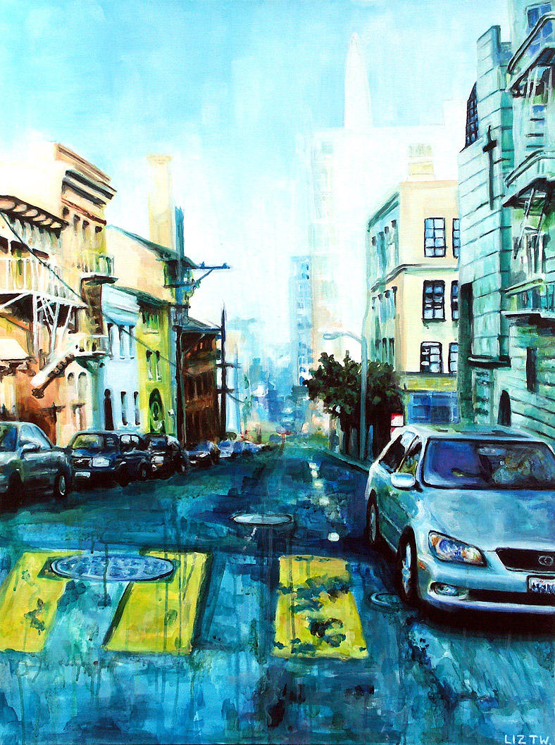 San francisco by liz2e on deviantart for Buy art san francisco