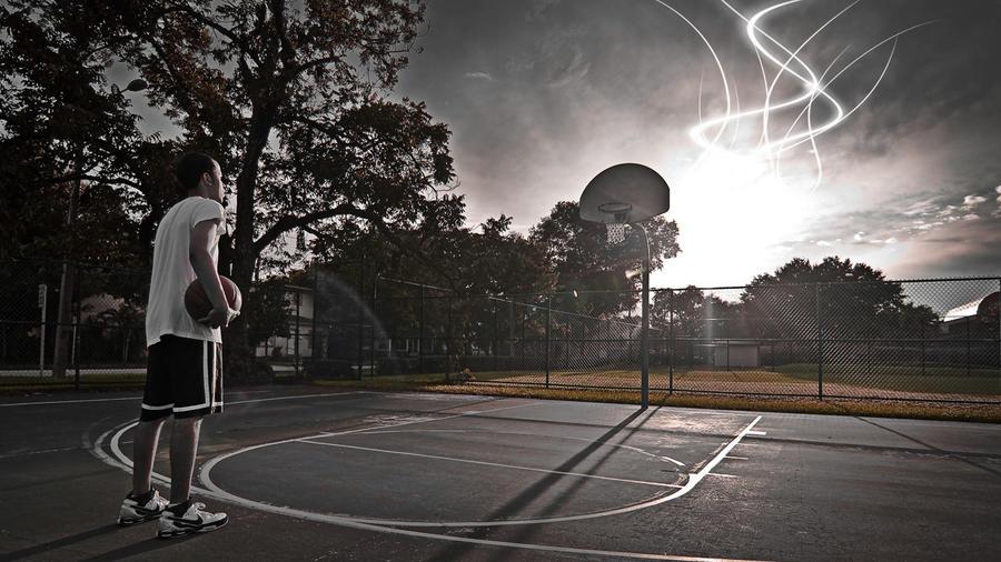 DeviantArt: More Like Nike Streetball Basketball by erikbarker