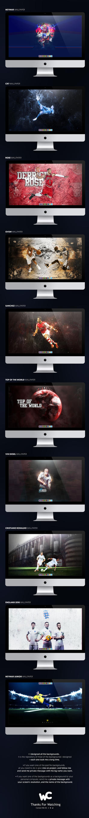 Wallpapers Collection by MarkARTGD