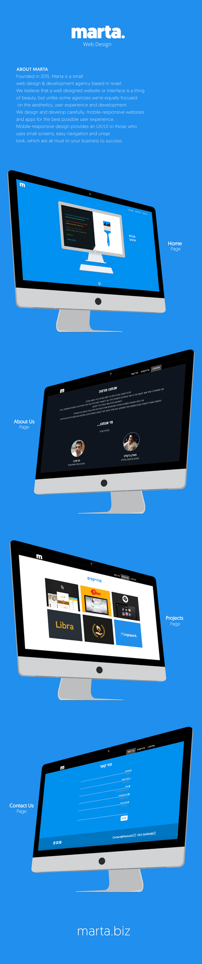 Marta - Web Design by MarkARTGD