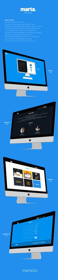 Marta - Web Design