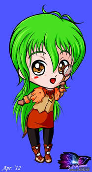 Chibi Detective Cashie