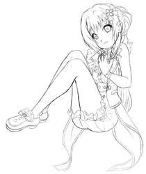 Mitama Inked Sketch
