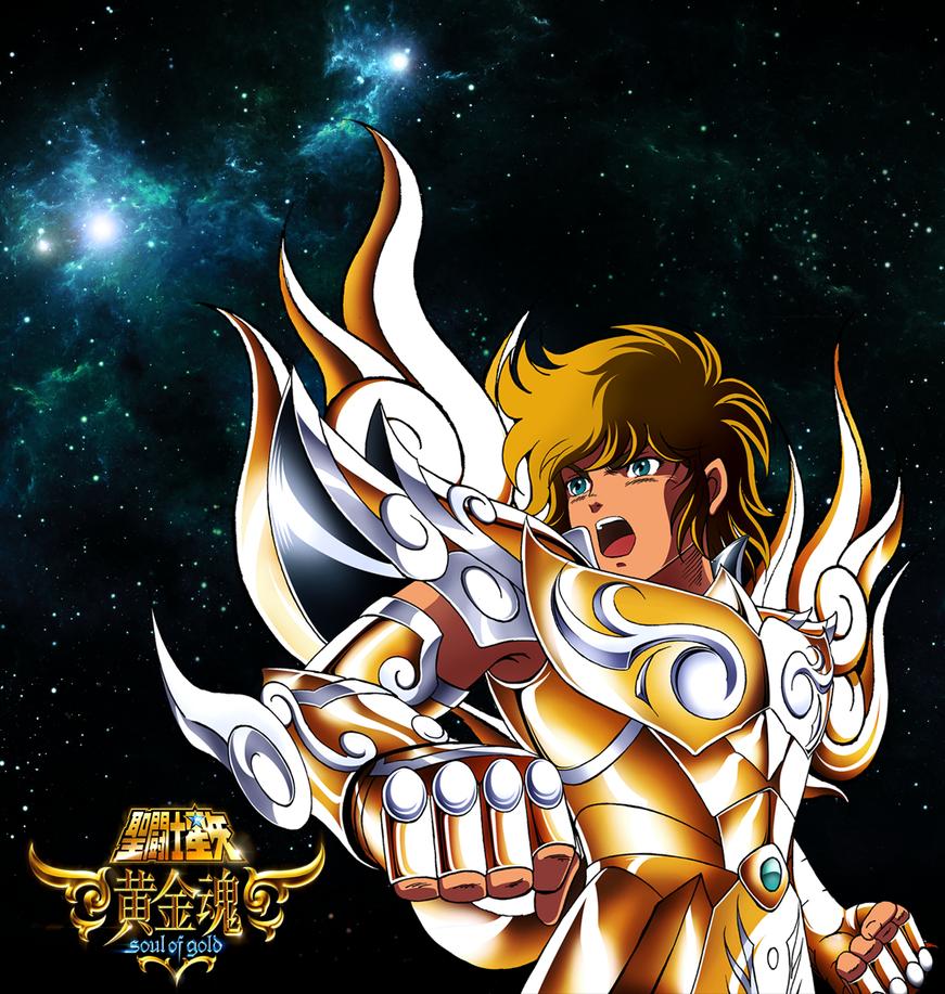 Saint Seiya FanArt - Soul Of Gold