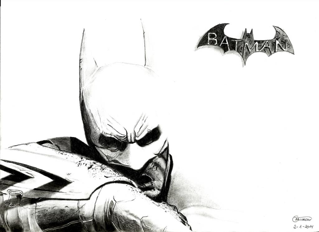 Batman Arkham City Drawing by Carloren96 on DeviantArt