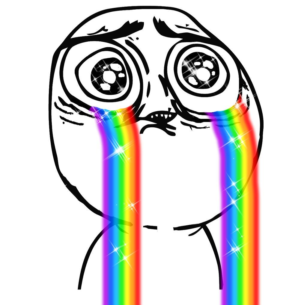 crying_rainbow_meme_by_yuukanda0705 d7gc42a crying rainbow meme by yuukanda0705 on deviantart