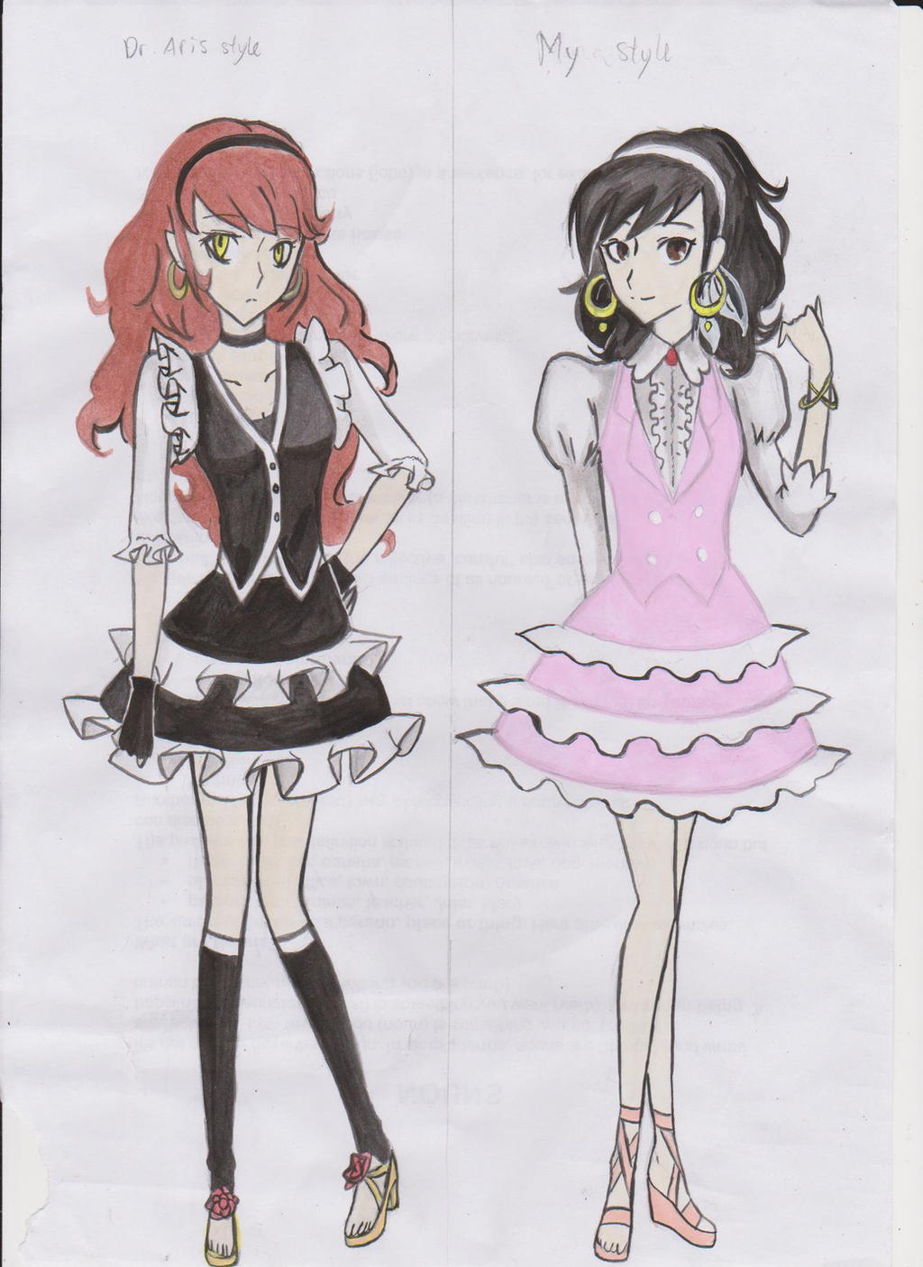 anime style clothes