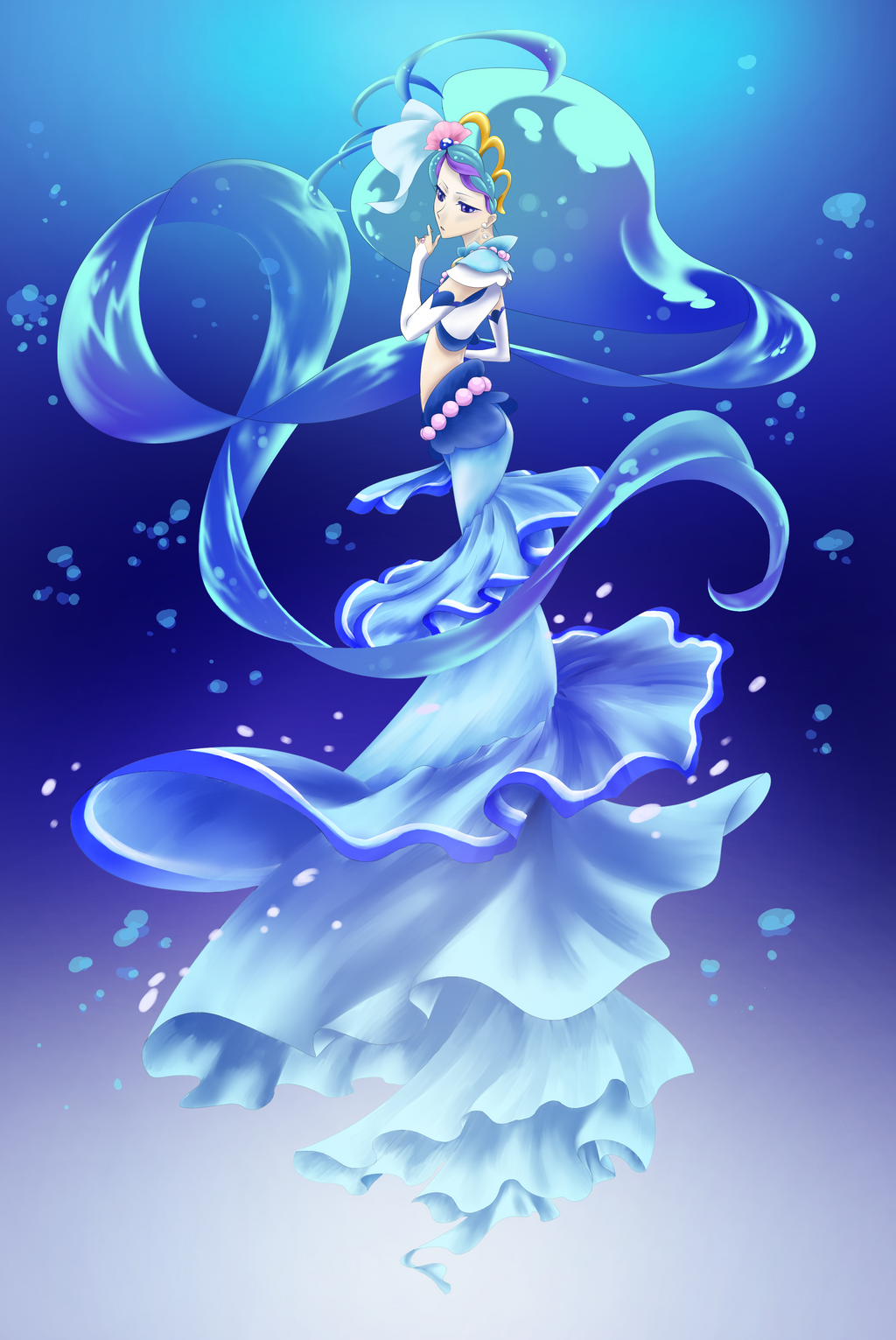 Disappointed with the look of the mermaids! - Page 3 — The ...  Manga Mermaid Princess