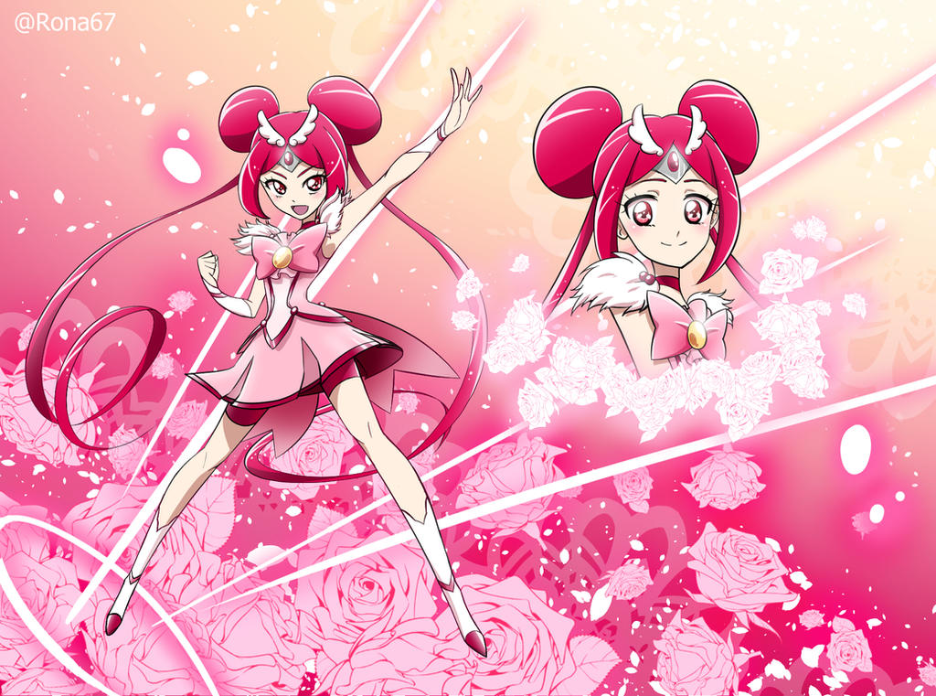 Cure Rose by Rona67