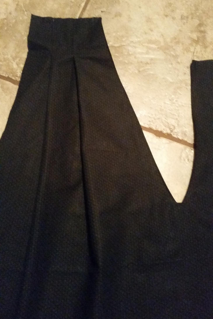 how to make a hakama pants