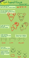 Lion Head and Face Tutorial