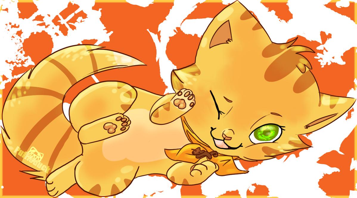 Goldenfur♥ Squirrelflight_cuddlekinz_by_puffleduck-d5dxp94
