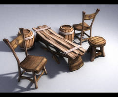 Game furniture by interpol-p