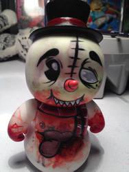 Bloody Snowman Vinyl Figure