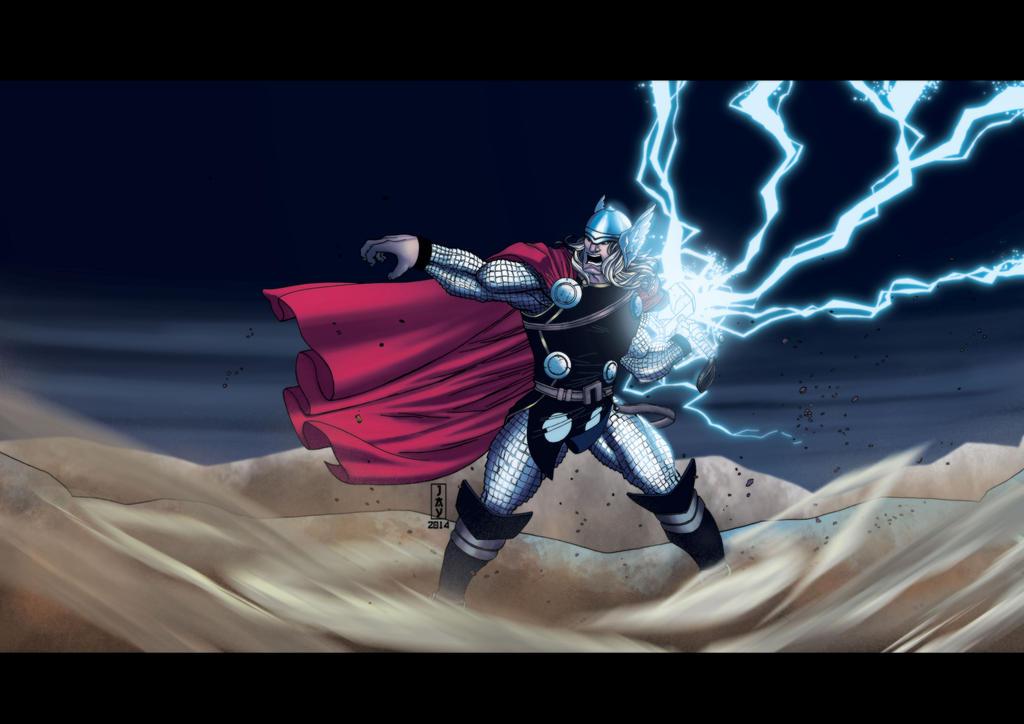 Modern Age Thor by yagamii