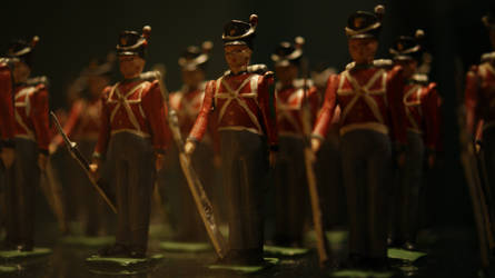 Little Toy Soldiers by saturnmarieson