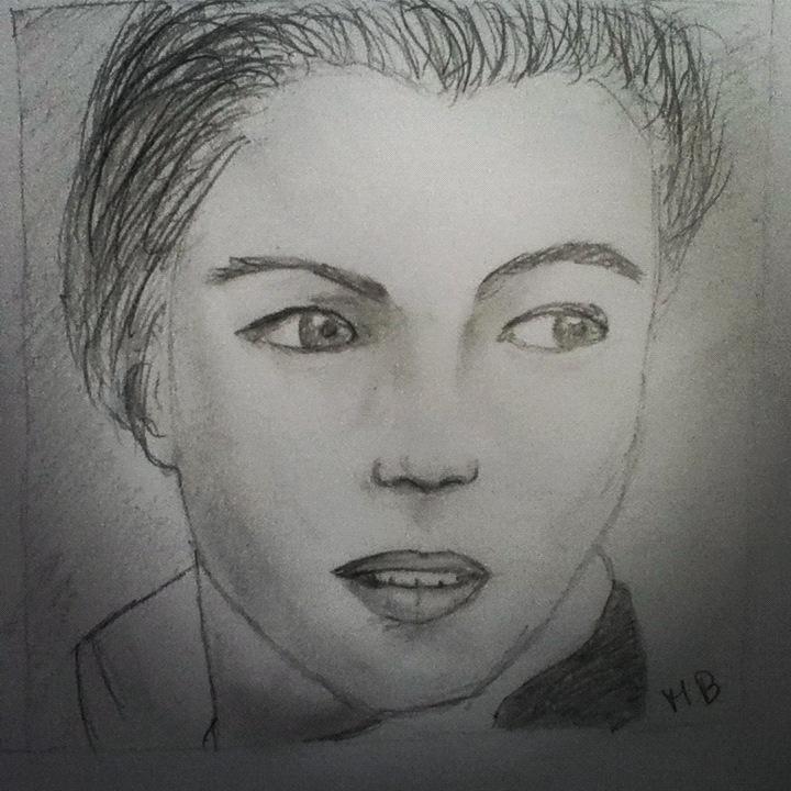 Leonardo Dicaprio Drawing by