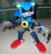 Metal Sonic Lego by SallyBeatles1