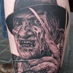 Freddy Kruger tatoo by SallyBeatles1