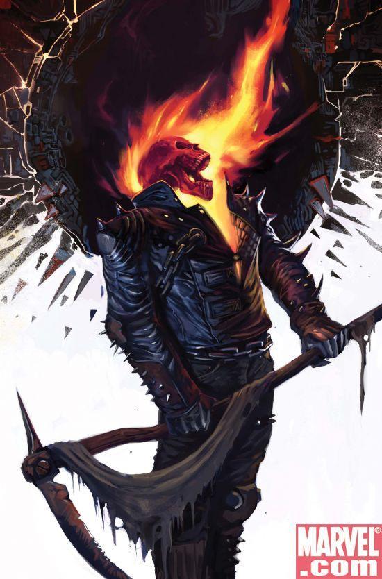 Ghost Rider Vs Grim Reaper *weird* by SallyBeatles1