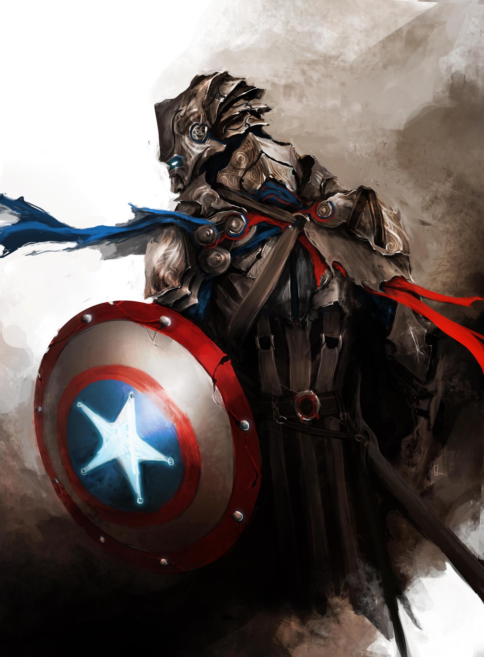 Képek - Page 3 The_avengers___captain_america_by_thedurrrrian-d53ch2c