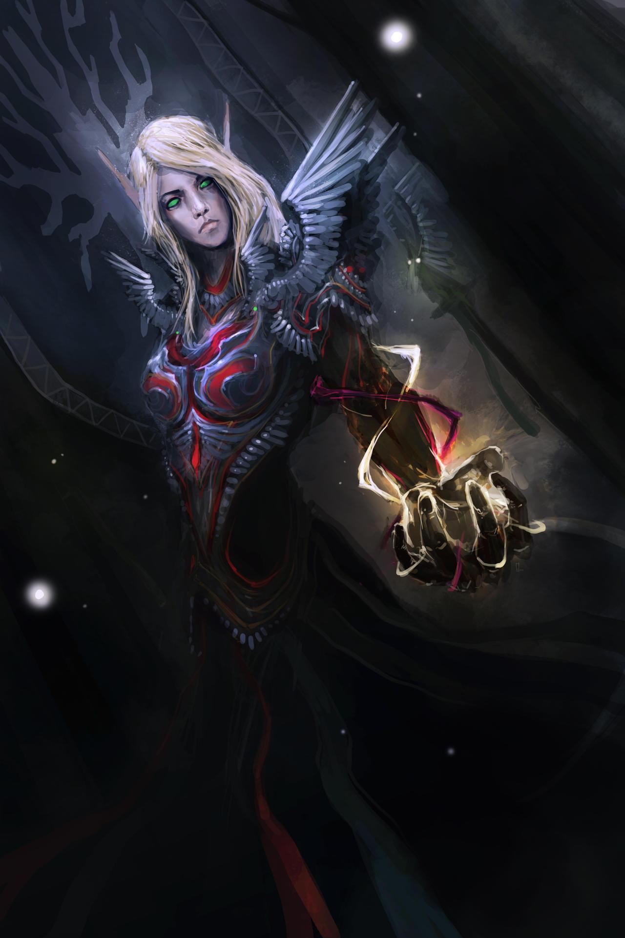 Lady Glodien Dawnwing by theDURRRRIAN