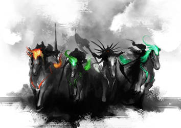 TEASER - 4 Horsemen by theDURRRRIAN