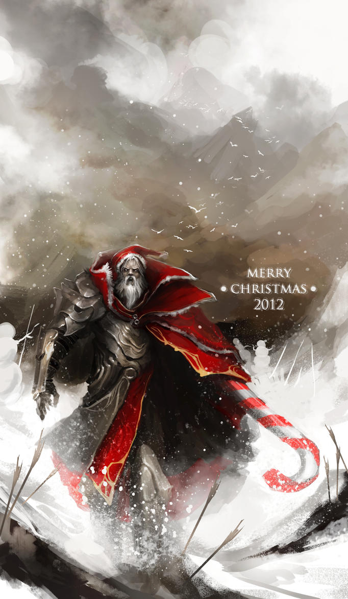 Santa's Epic Candy Cane Vendetta by theDURRRRIAN