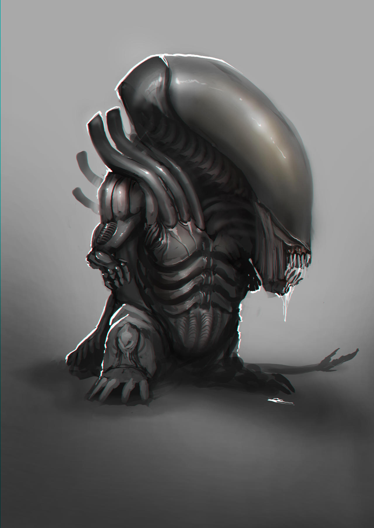 Alien Pup by theDURRRRIAN