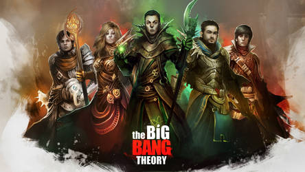 The Big Bang Theory - The Adventurers Wallpaper