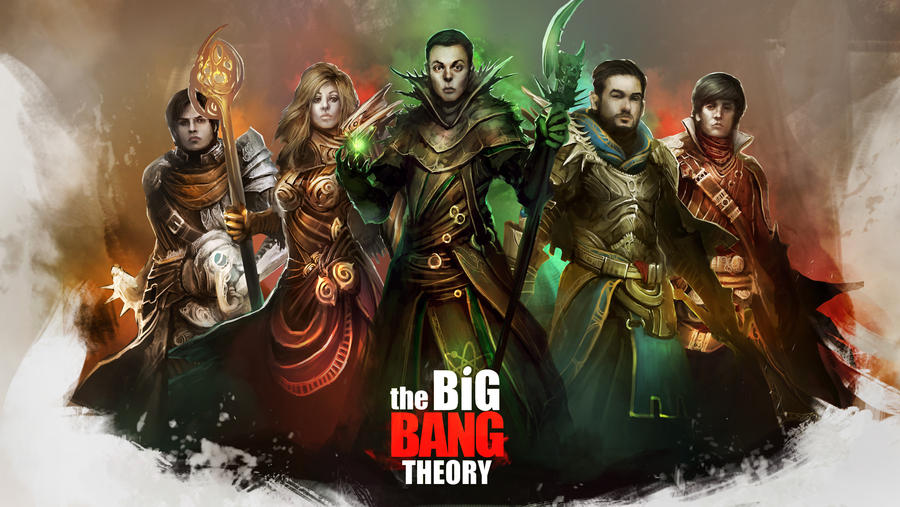 the big bang theory wallpaper  The Big Bang Theory - The Adventurers Wallpaper by theDURRRRIAN on ...