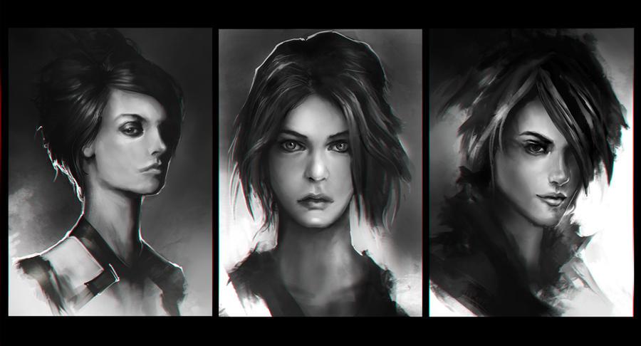 Portrait Practice 4 by theDURRRRIAN