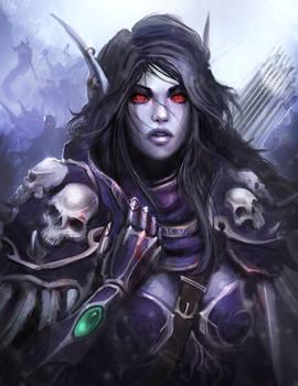 World Of Warcraft - Sylvanas, The Dark Lady