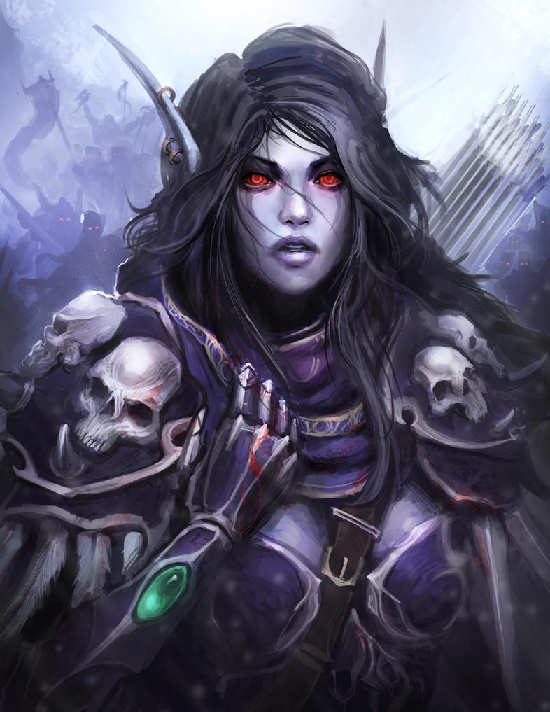 Criação de Tecnicas - Yoshida World_of_warcraft___sylvanas__the_dark_lady_by_thedurrrrian-d6gi5pq
