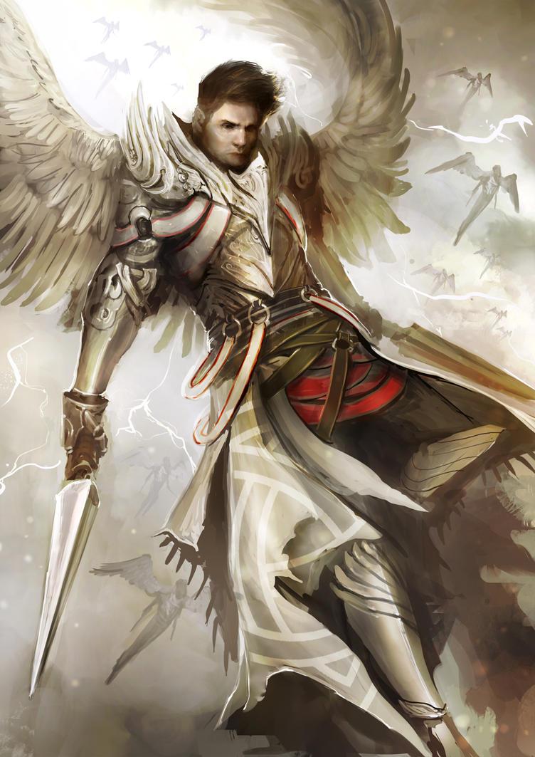 Supernatural - Archangel Dean by theDURRRRIAN