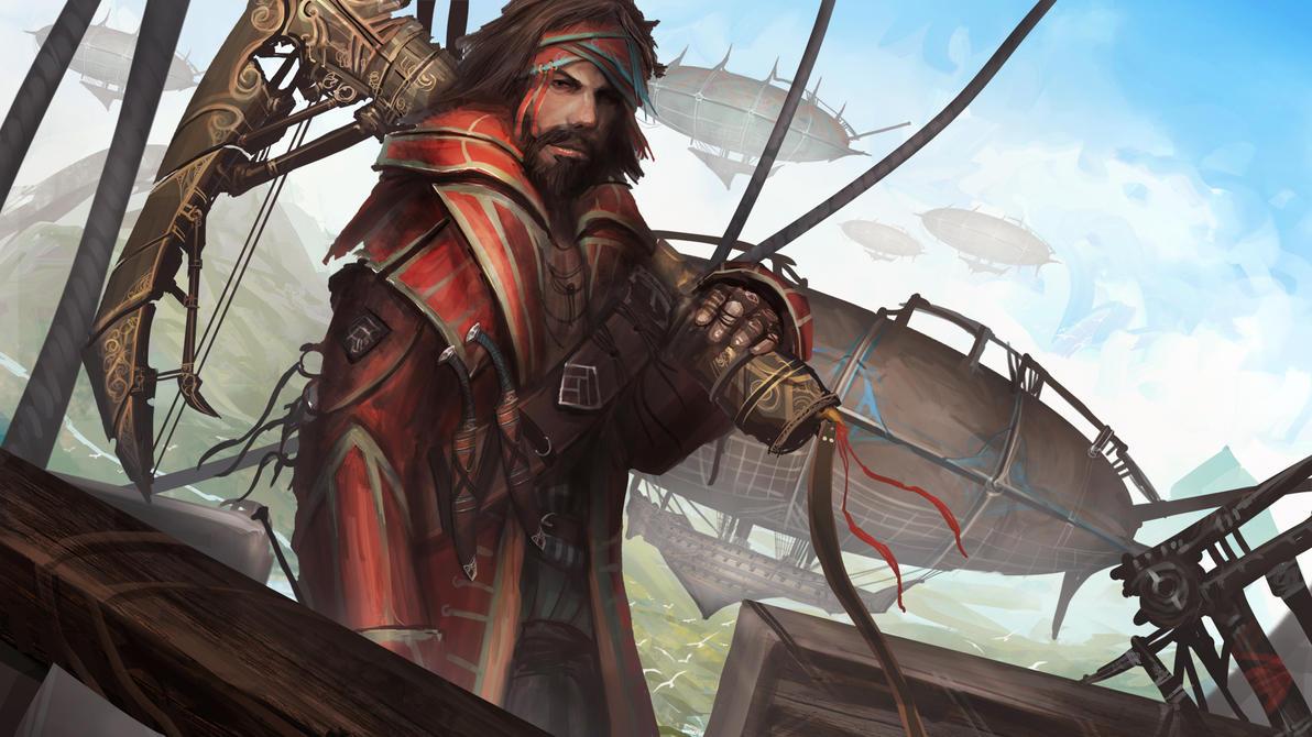 Sky Pirates Arrr-mada by theDURRRRIAN