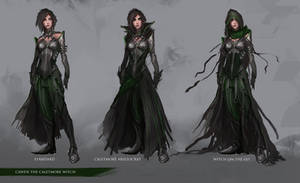Character Design: Cawen the Caletmore Witch