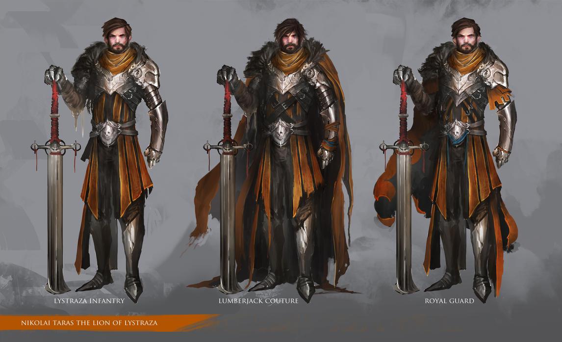 Nikolai The Lion by theDURRRRIAN