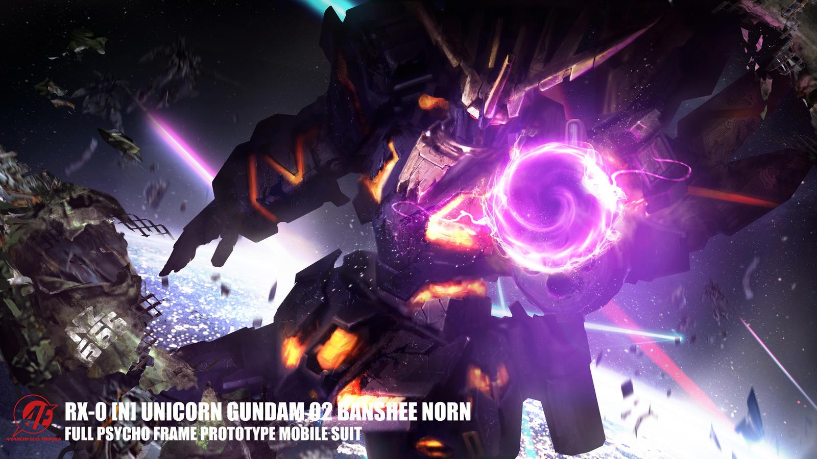 BANSHEE!!! by theDURRRRIAN on DeviantArt  Gundam