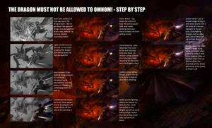 Omnom Dragon - Step by Step