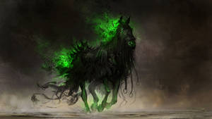 Fear, the black horse of famine