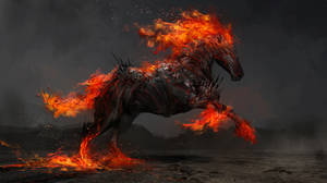 Ruin, the fiery horse of war by theDURRRRIAN