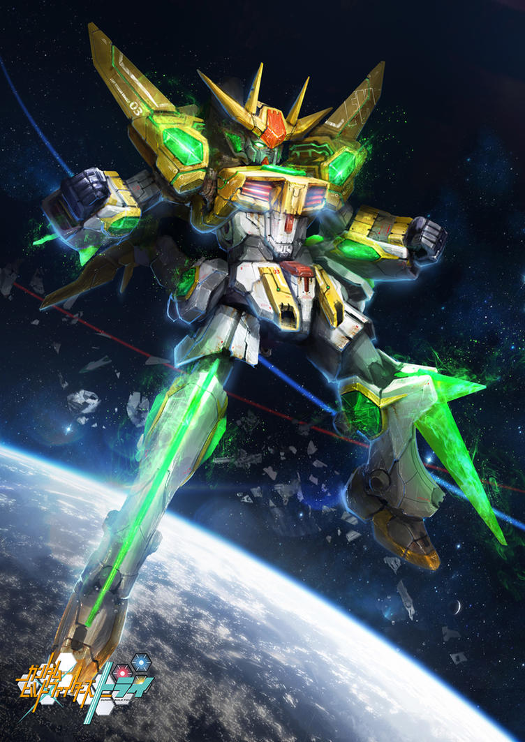 GBF:T Star Winning Gundam by theDURRRRIAN