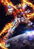 GBF:T Try Burning Gundam by theDURRRRIAN