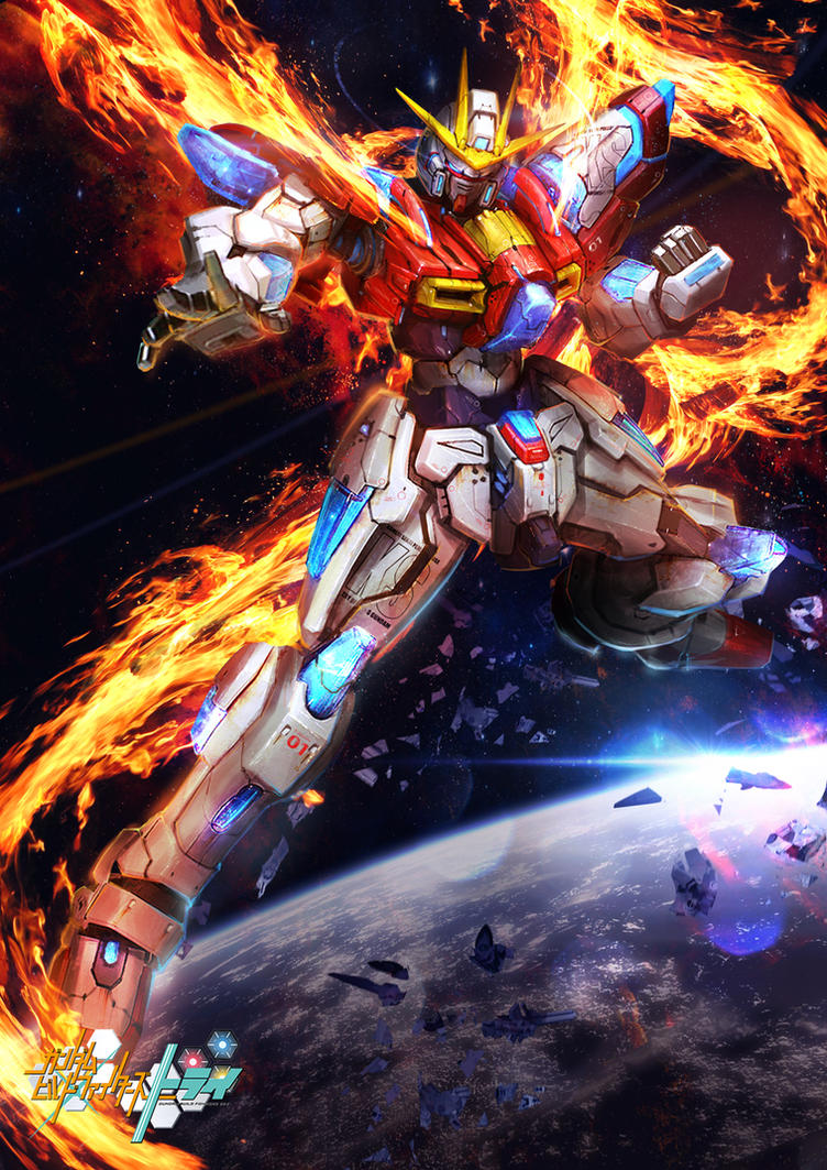 GBF:T Try Burning Gundam by theDURRRRIAN