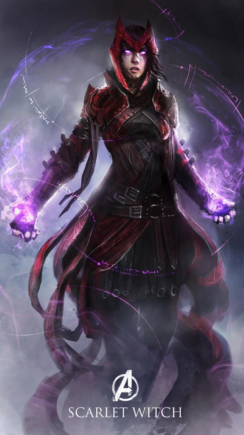 Next Scarlet Witch costume?! I wish! — Marvel Heroes Omega