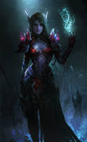 Blood Elf by theDURRRRIAN