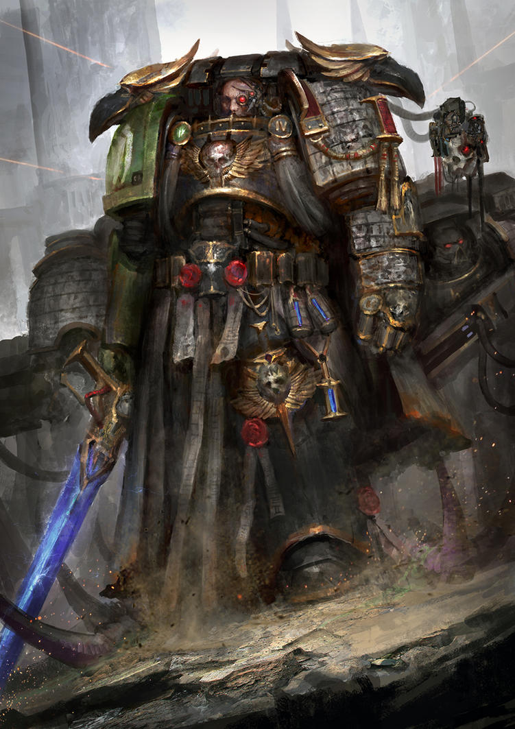 Deathwatch: The bling arm crew by theDURRRRIAN